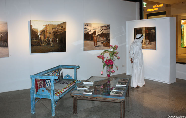 AL Mashreq Gallery Kuwait - Exhibition Kuwaiti artist Abdul Rida Baqer (8)