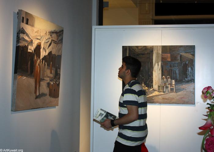 AL Mashreq Gallery Kuwait - Exhibition Kuwaiti artist Abdul Rida Baqer (9)