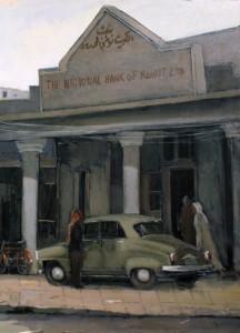 Back in Time: Old Kuwait by Abdul Rida Baqer in Al Mashreq Gallery
