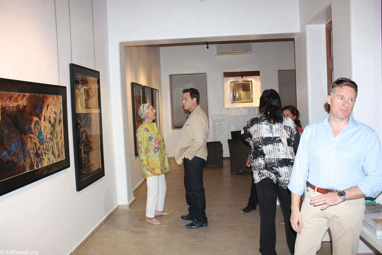 Dar Al Funoon Gallery-Emerging Iranian artists (3)