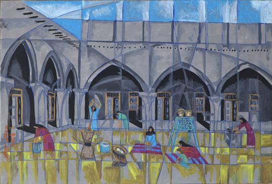 Ibrahim Ismail. Courtesy of Boushahri Gallery