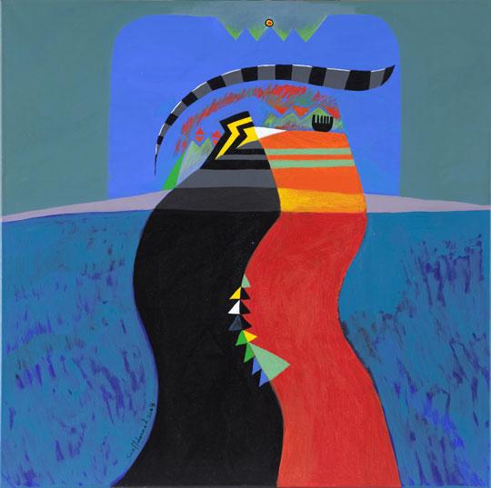 Sami Mohammed. Courtesy of Boushahri Gallery
