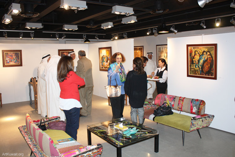 Al Mashreq Gallery Kuwait- Art from Iraq (1)
