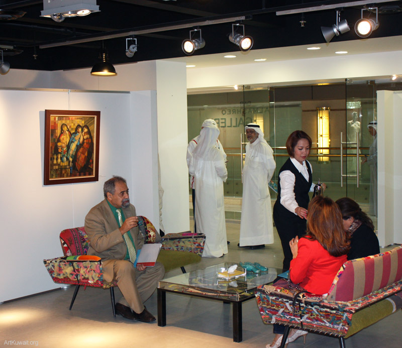 Al Mashreq Gallery Kuwait- Art from Iraq (10)
