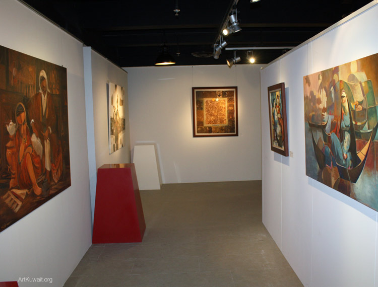 Al Mashreq Gallery Kuwait- Art from Iraq (3)