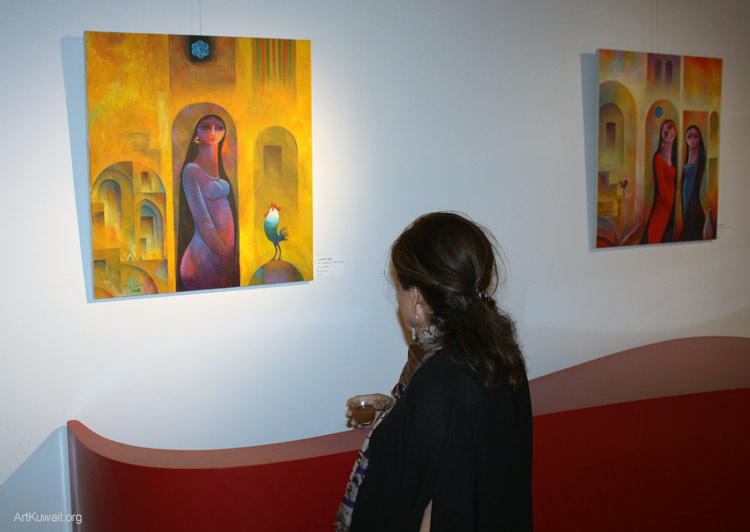 Al Mashreq Gallery Kuwait- Art from Iraq (7)