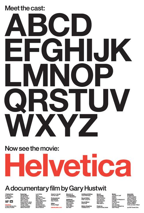 Helvetica-Film-poster