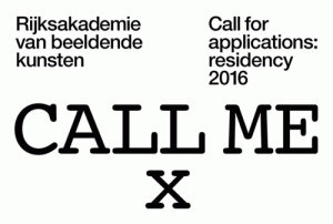 Rijksakademie residency 2016: Call for applications