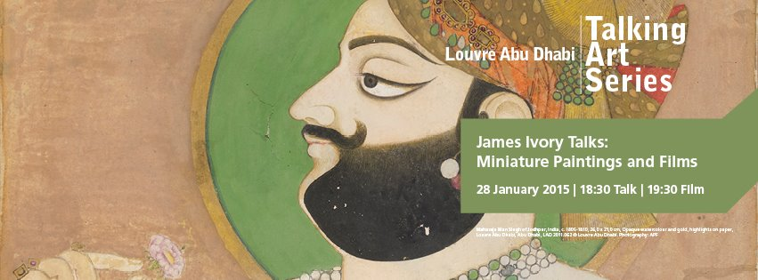Louvre Abu Dhabi presents Talking Art Series IV: James Ivory