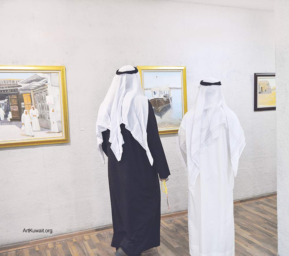 Jassem Murad - Exhibition - Old Kuwait (1)