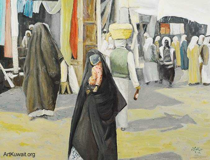 Jassem Murad - Exhibition - Old Kuwait (10)