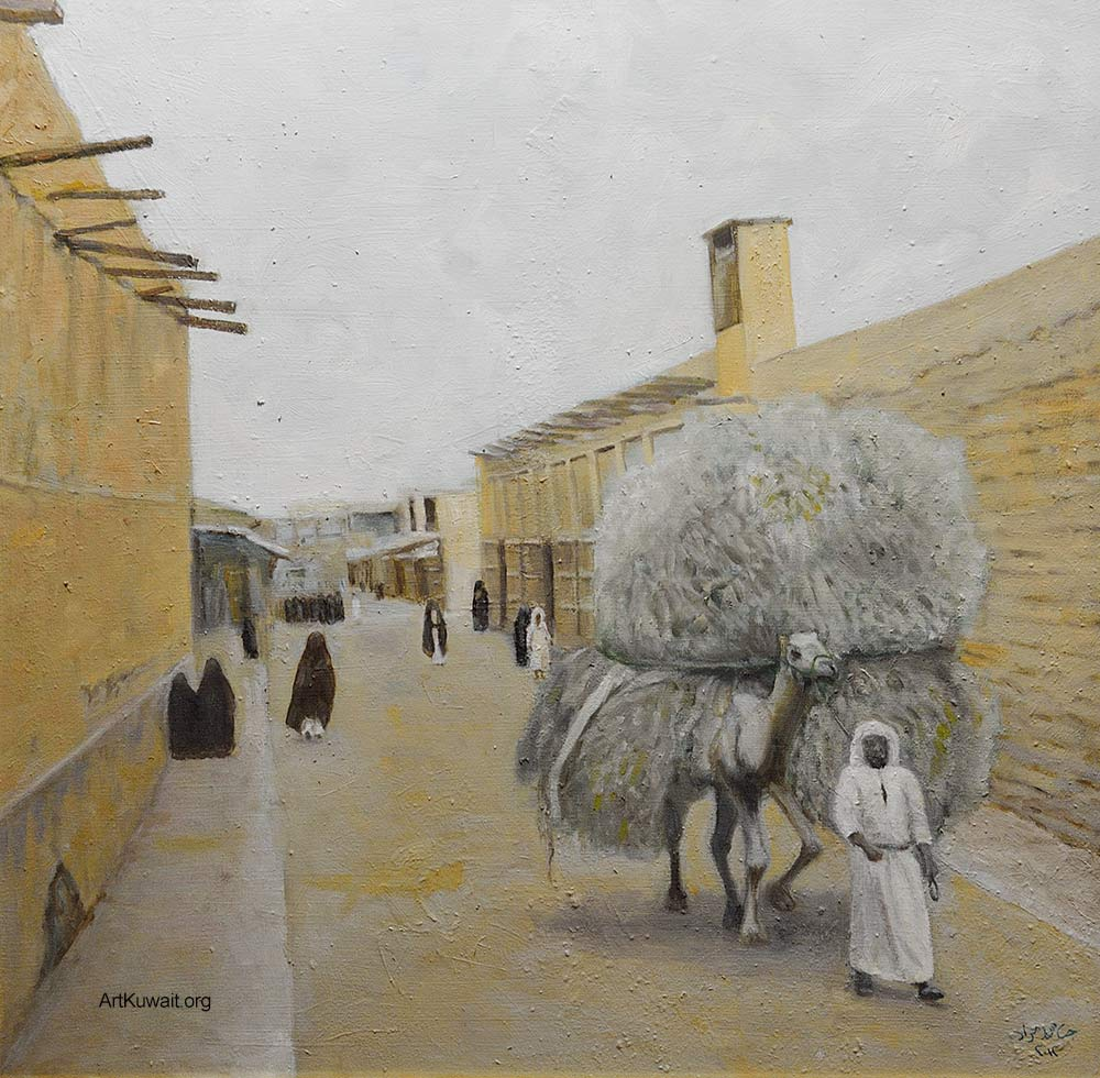 Jassem Murad - Exhibition - Old Kuwait (12)