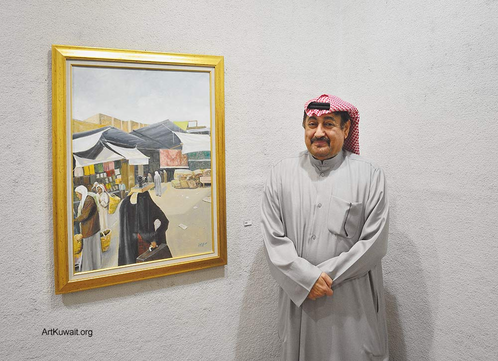 Jassem Murad - Exhibition - Old Kuwait (2)