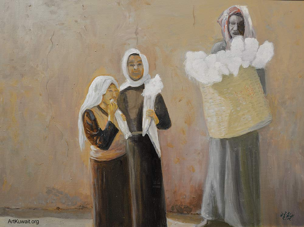Jassem Murad - Exhibition - Old Kuwait (5)