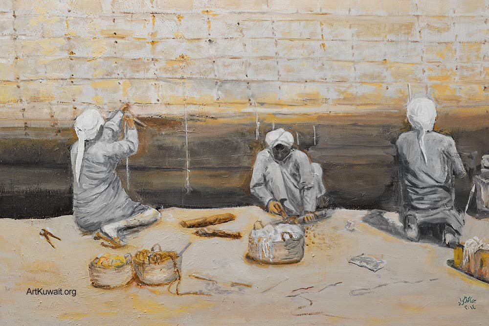 Jassem Murad - Exhibition - Old Kuwait (7)
