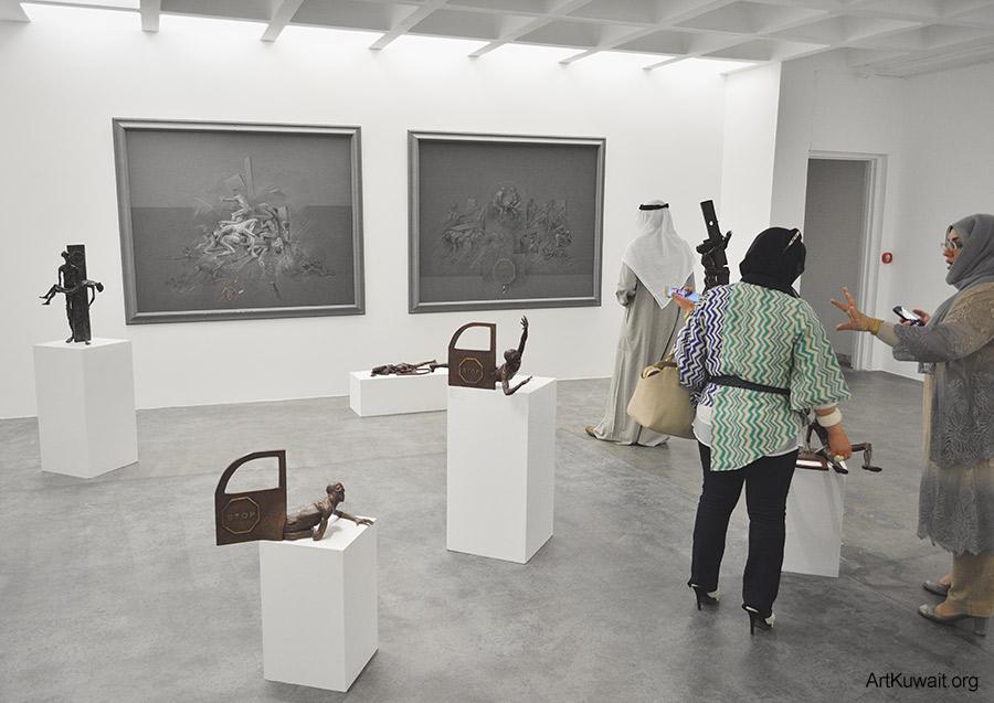 Sami Mohammad - Retrospective in Kuwait (10)