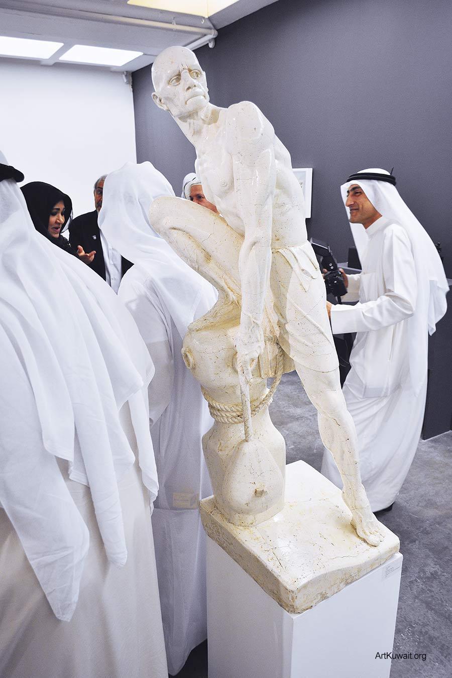 Sami Mohammad - Retrospective in Kuwait (3)