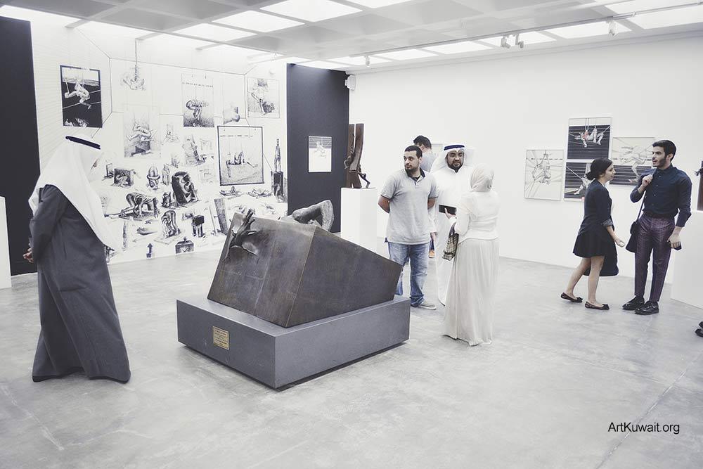 Sami Mohammad - Retrospective in Kuwait (4)