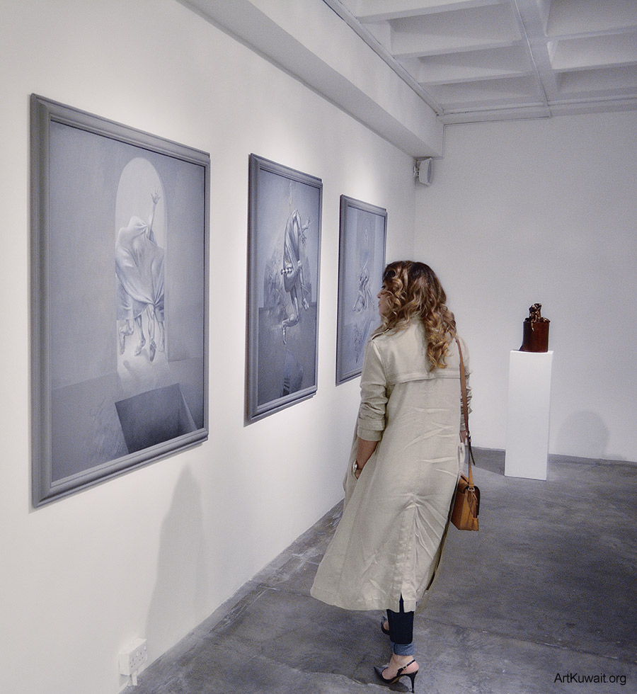 Sami Mohammad - Retrospective in Kuwait (9)