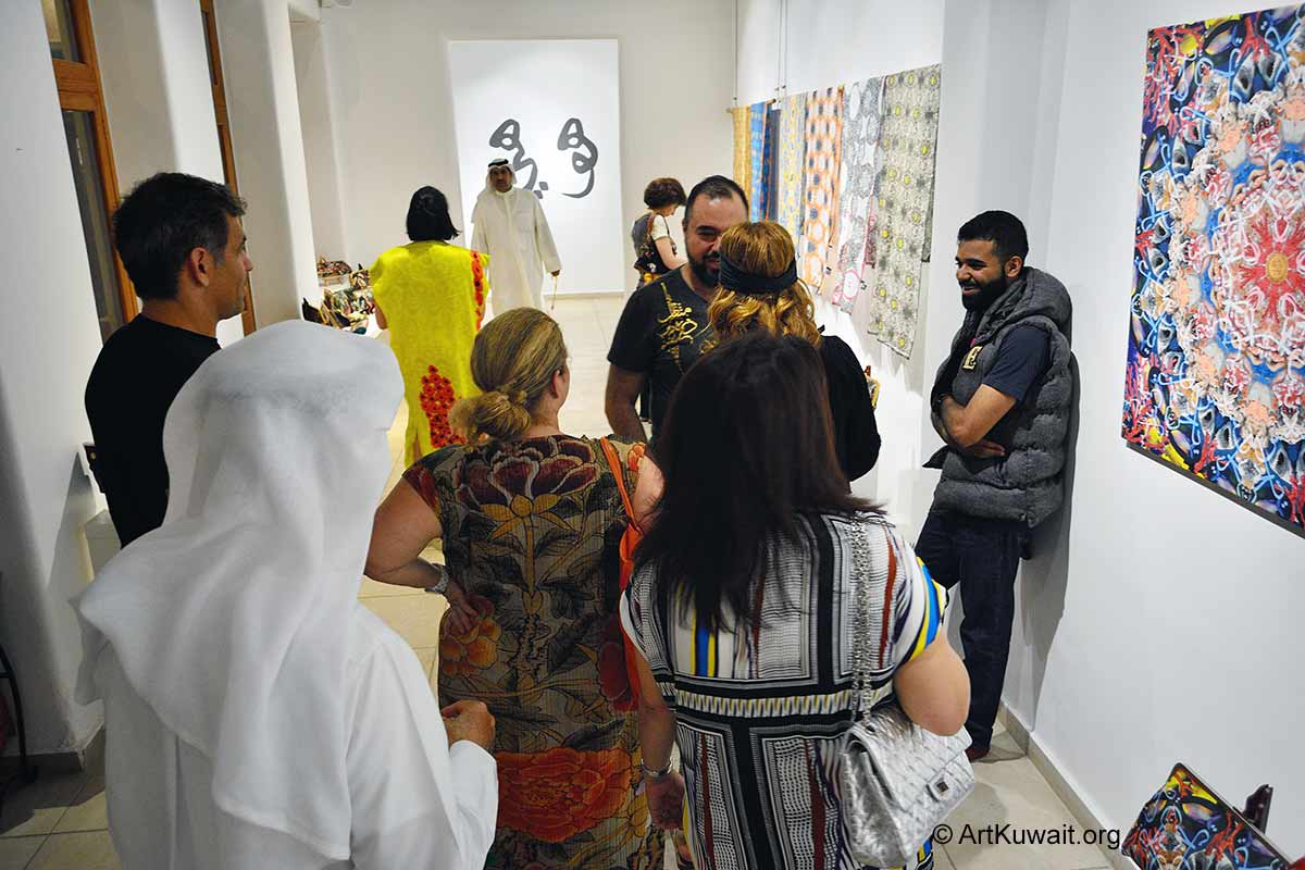 Abdulla Al Awadi Roaming Patterns- Art & Design Kuwait (1)