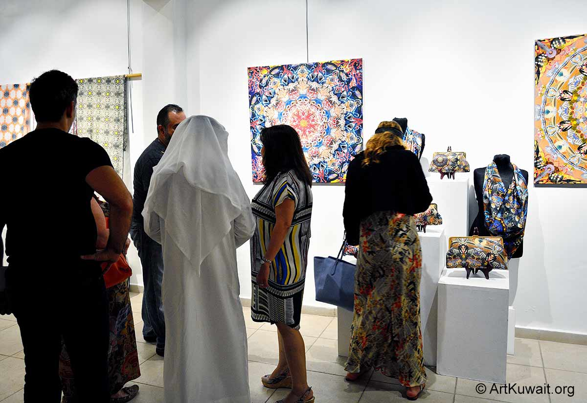 Abdulla Al Awadi Roaming Patterns- Art & Design Kuwait (2)