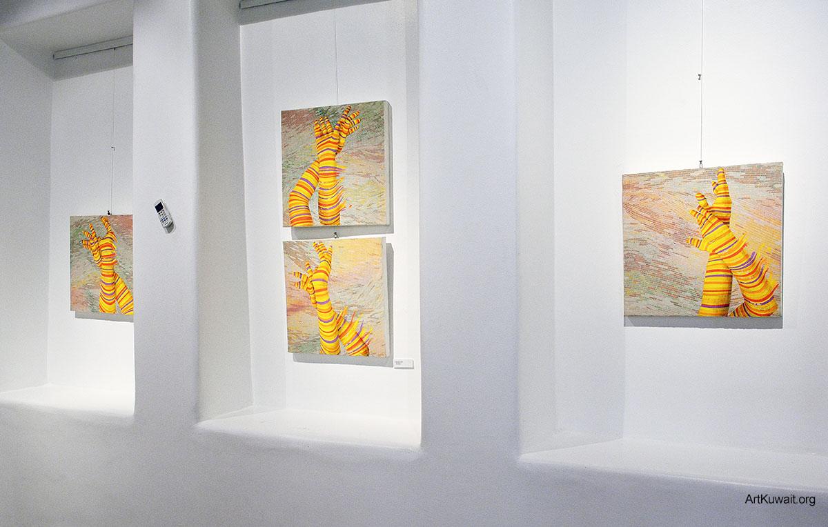 Hiresh Shiva - Dar Al Funoon Gallery Kuwait (2)