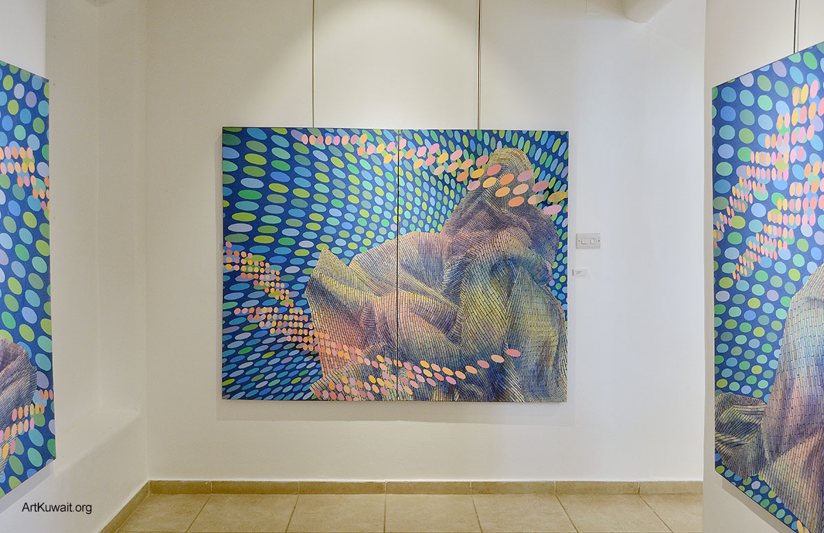 Hiresh Shiva - Dar Al Funoon Gallery Kuwait (7)