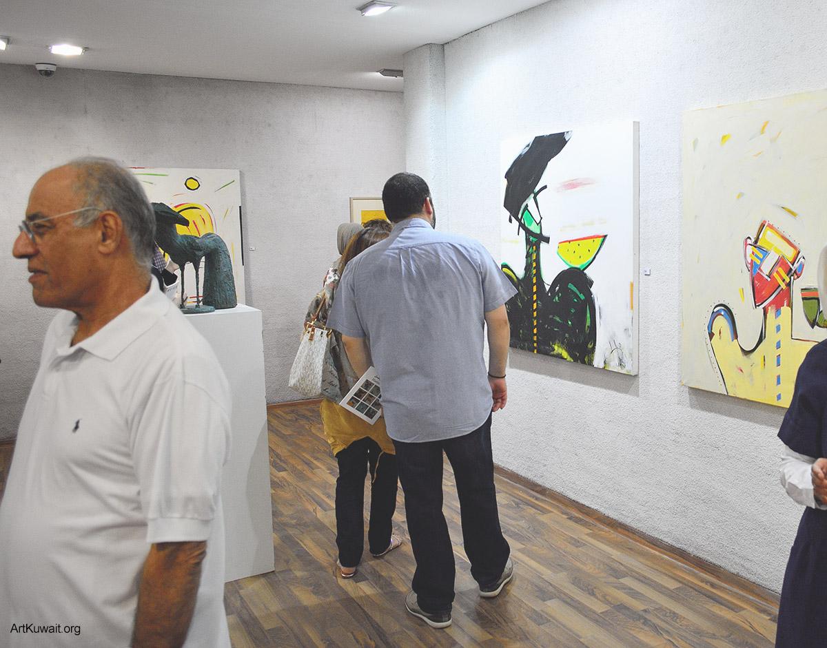 Kuwaiti artist Hameed Khazaal - Exhibition Boushahri Gallery (2)
