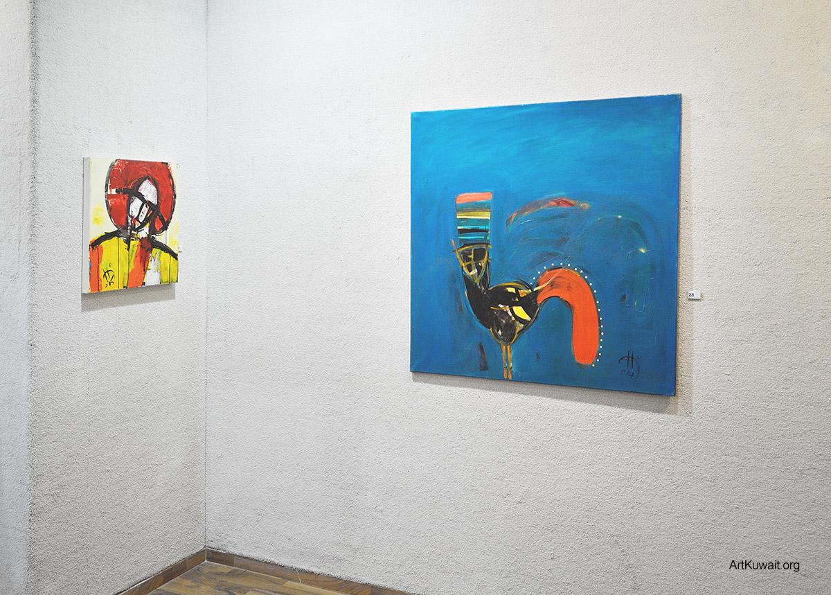 Kuwaiti artist Hameed Khazaal - Exhibition Boushahri Gallery (5)