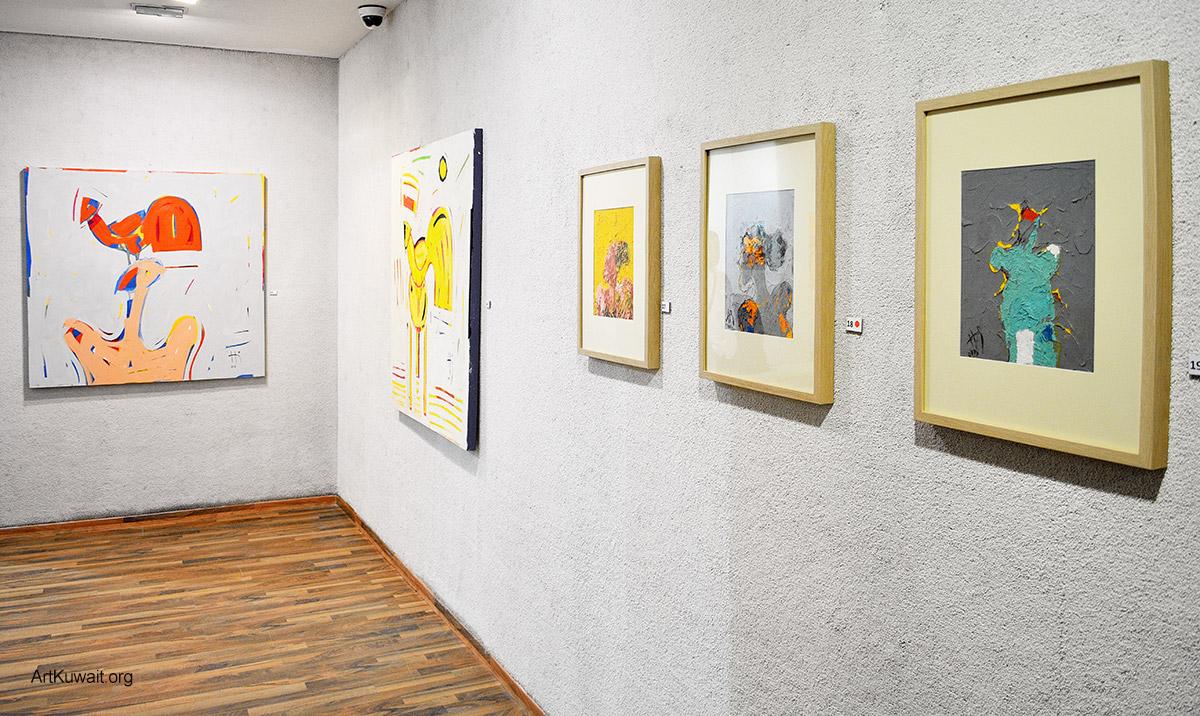 Kuwaiti artist Hameed Khazaal - Exhibition Boushahri Gallery (8)