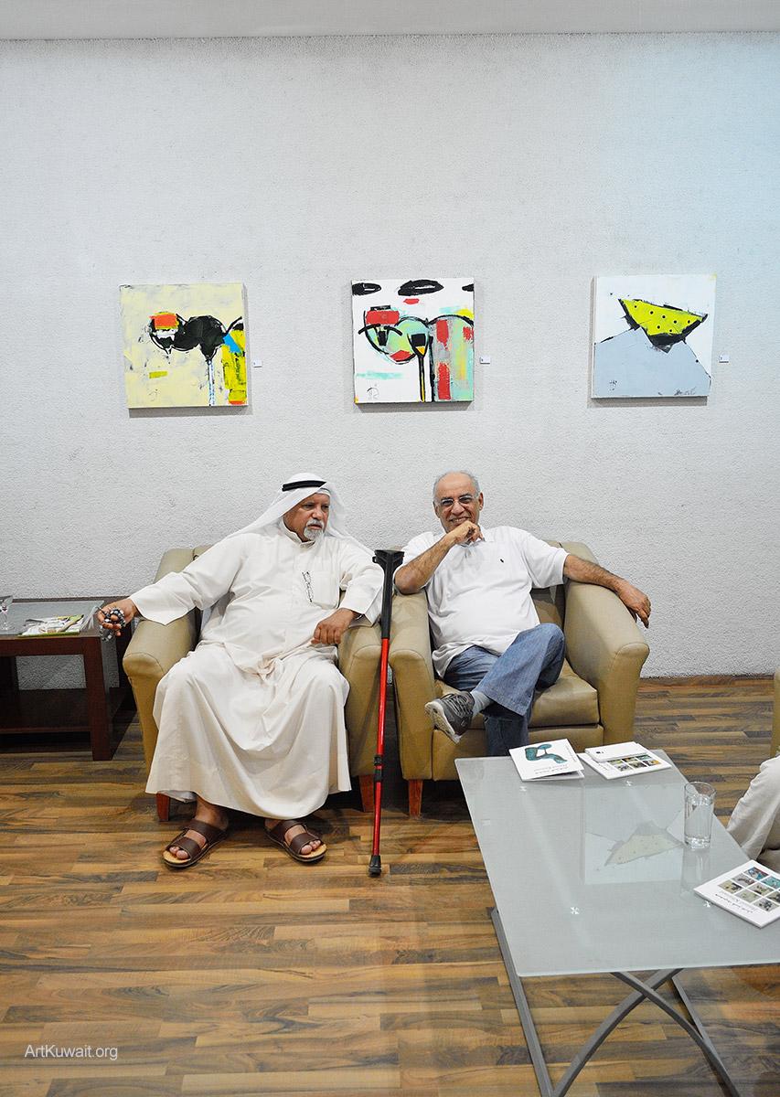 Kuwaiti artist Hameed Khazaal - Exhibition Boushahri Gallery (9)