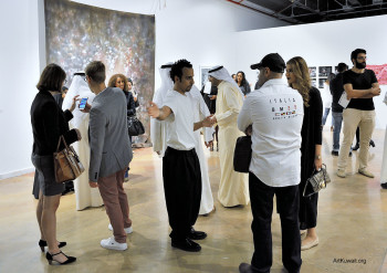 Sultan Gallery: Opening of Four Hands Can't Clap by Mohammed Al Kouh