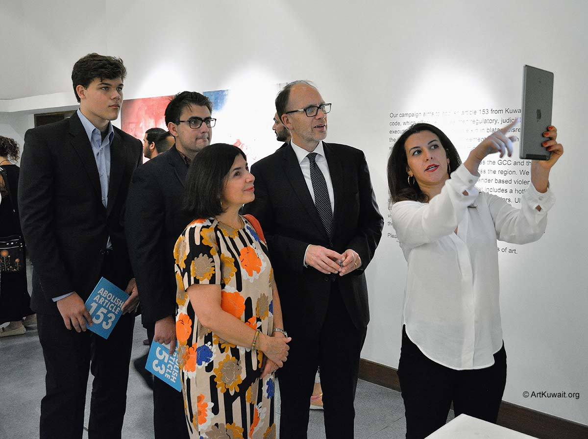 FA Gallery - Art Exhibition of Abolish Article 153 (1)