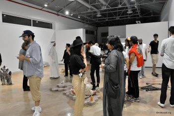 Sultan Gallery: Opening of the Byproducts of Development by Abdullah Al-Mutairi