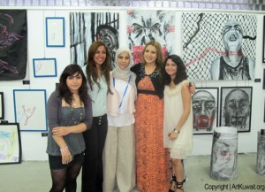 "Art Exhibition ""Mind Explosions"" at AIS Kuwait"