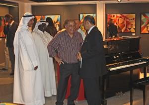 Fadhel Al Abbar's SOLO Exhibition Opening at AL M. Gallery