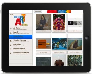 Tate: Guide to Modern Art Terms now available for iPad and iPhone