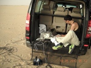 MoMA Kuwait: Sound Installation UNPLIFIED to be performed on 22nd of May, 2012. Interview with the artist Tarek Atoui