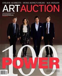 Art+Auction: Power List 2012