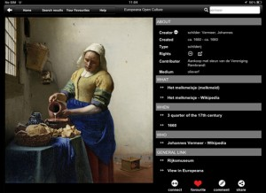 Europeana APP : Art and Culture in 350,000 images