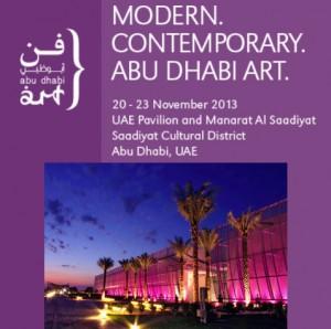 Abu Dhabi Art Fair 20-23 November