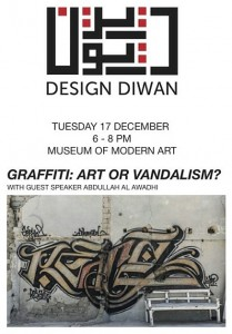 Museum of Modern Art: Graffiti Art or Vandalism ? by Design Diwan