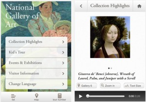 The National Gallery of Art launched 'Your Art' app for Android and iPhone