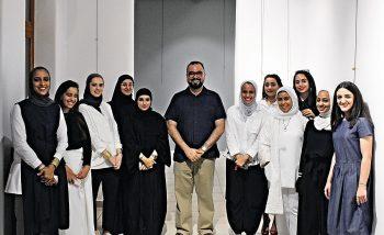Dar Al Funoon Gallery: Opening of WMDAH